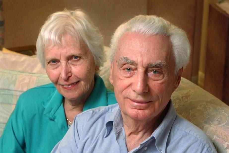Helmut Oberlander en compagnie de son épouse Margret... (Photo MATHEW MCCARTHY, ARCHIVES LA PRESSE CANADIENNE)
