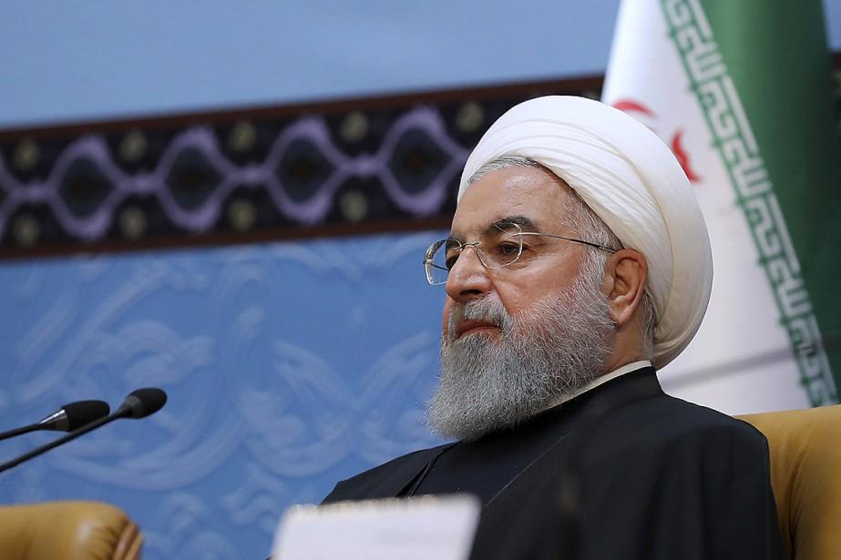Le président iranien Hassan Rohani a participé à... (PHOTO FOURNIE PAR LA PRÉSIDENCE IRANIENNE VIA AP)