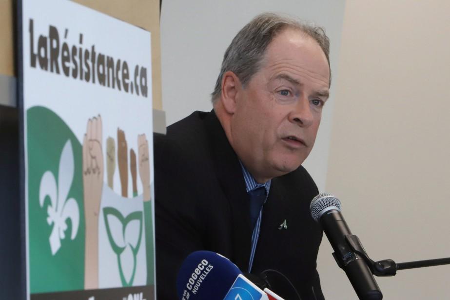 Le président de l'Assemblée de la francophonie de... (Photo Fred Chartrand, LA PRESSE CANADIENNE)