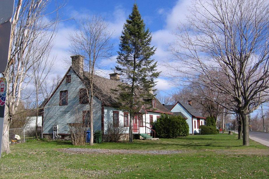 La maison Boileau été rasée, cette semaine, par... (Photo Raymond Ostiguy, archives La Presse canadienne)