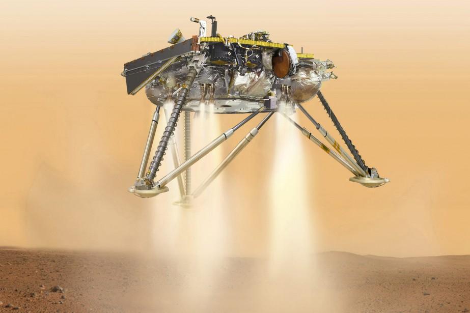 L'équipe InSight espère que la sonde arrivera sur... (ARCHIVES AP)