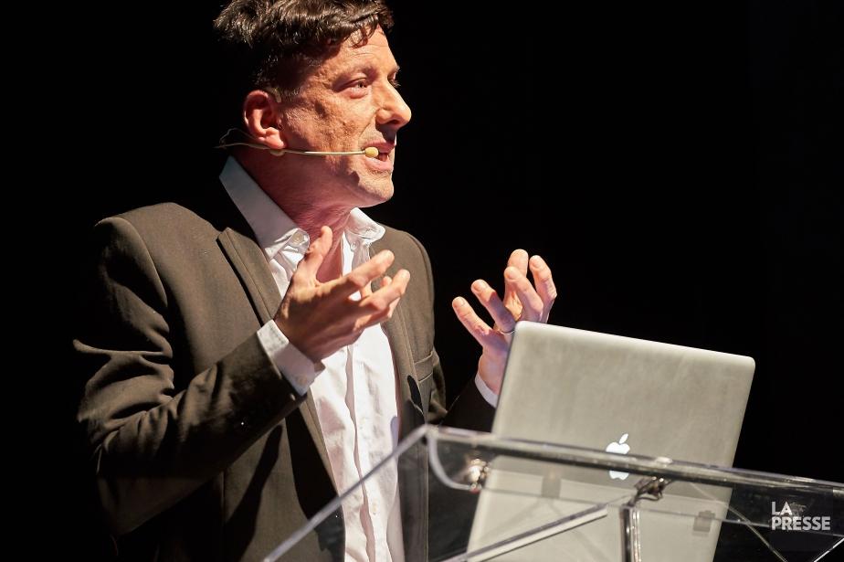 Le chroniqueur Yves Boisvert prendra part à la... (PHOTO ANDRÉ PICHETTE, ARCHIVES LA PRESSE)