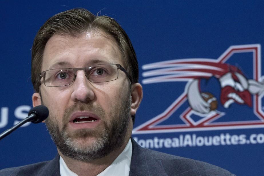 Le copropriétaire des Alouettes de Montréal, Andrew Wetenhall.... (Photo Paul Chiasson, archives La Presse canadienne)