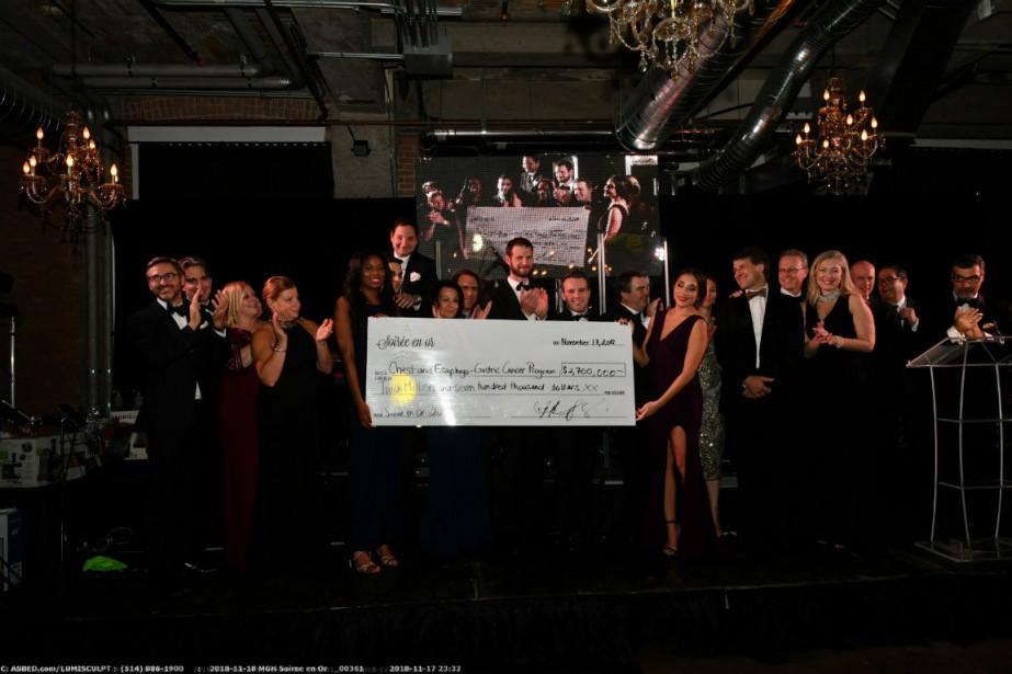 La deuxième Soirée en ora permis d'amasser 2,7millions$.... (Photo fournie par les Fondations)