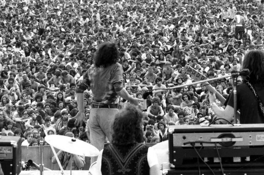 Joe Cocker à Woodstock... (PhotoarchivesThe New York Times)