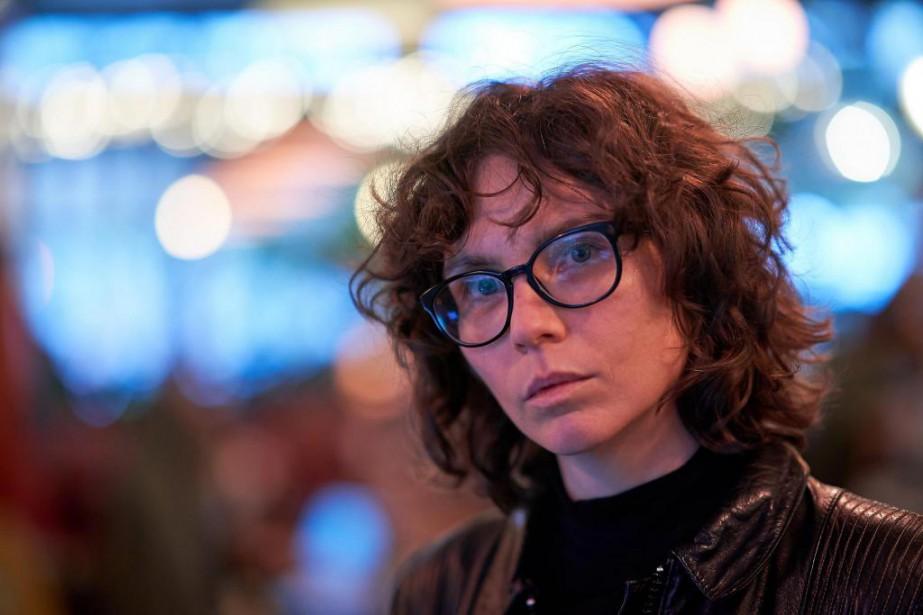 Alexie Morin est éditrice au Quartanier... (Photo André Pichette, La Presse)