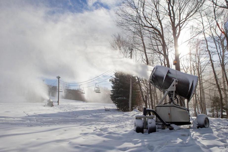 Plusieurs stations de ski du Québec ont amélioré... (Photo David Boily, La Presse)