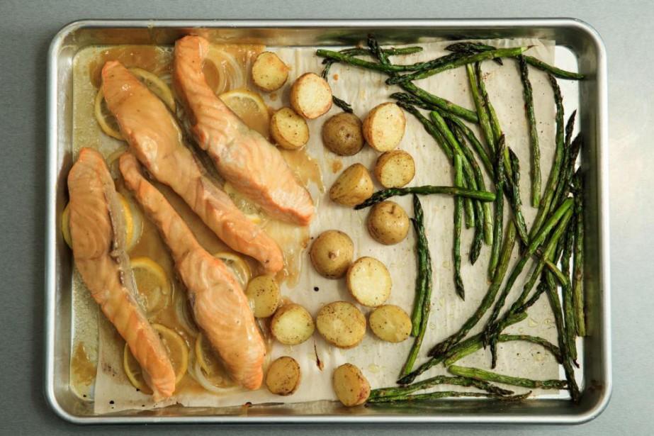 Les repas sur plaque gagnent à être essayés.... (Photo Hugo-Sébastien Aubert, La Presse)