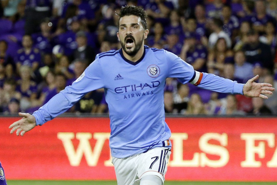 David Villa a marqué 80 buts en 124... (Photo John Raoux, archives Associated Press)