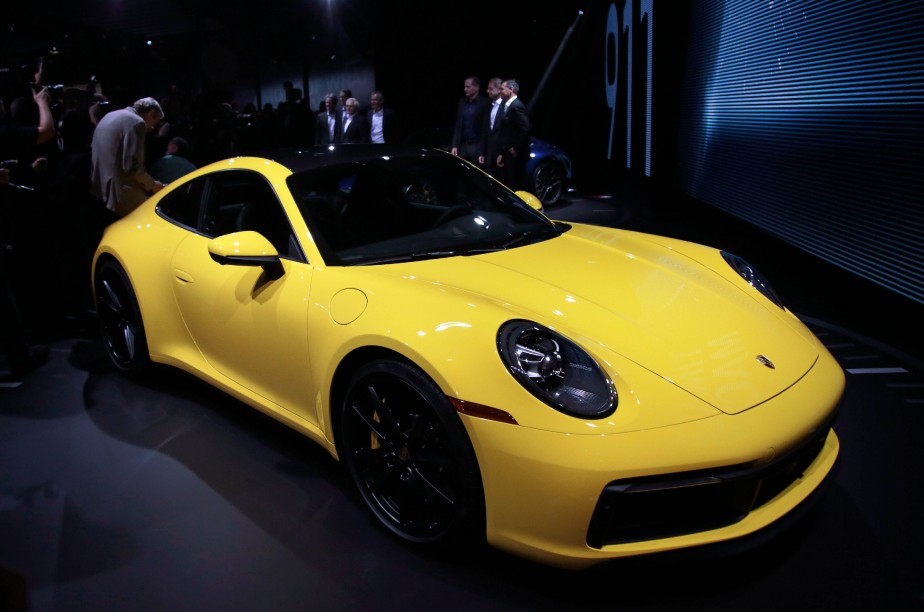 The 2020 Porsche 911 Carrera 4S is introduced during a Porsche press conference at the Los Angeles Auto Show in Los Angeles, California, U.S. November 28, 2018. REUTERS/Kyle Grillot (REUTERS)