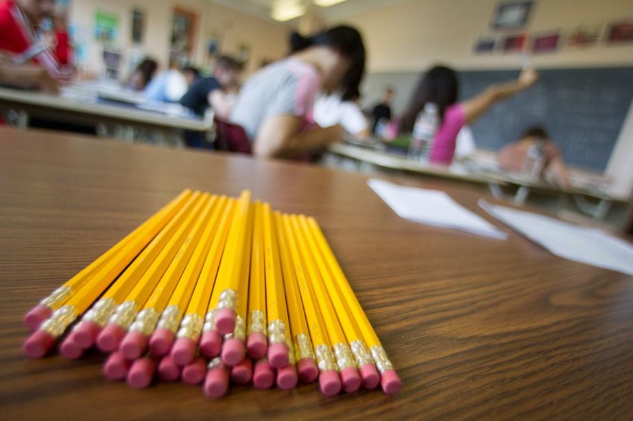 Quelque 27 000 élèves de 2e secondaire issus... (PHOTO IVANOH DEMERS, ARCHIVES LA PRESSE)