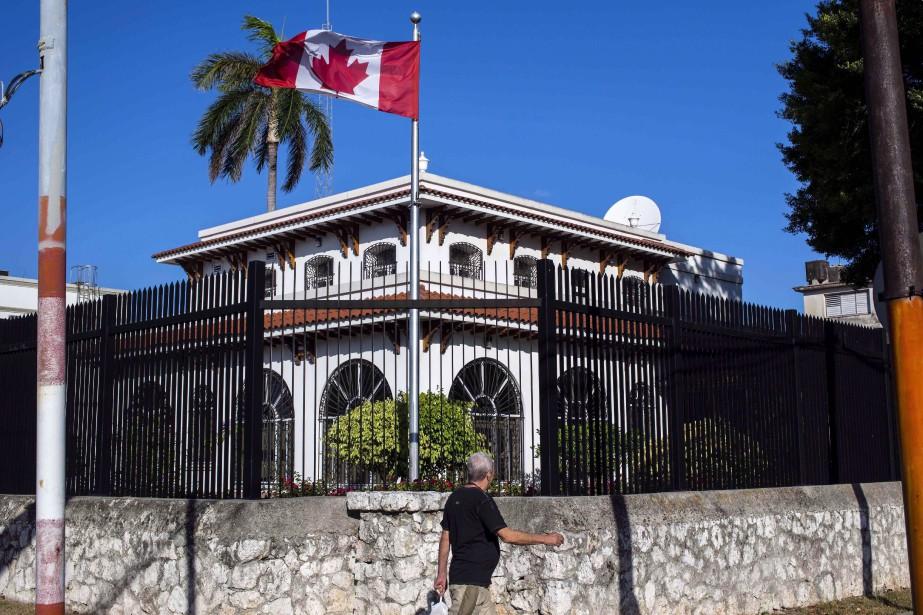 L'ambassade canadienne à Cuba... (Photo Desmond Boylan, archives AP)