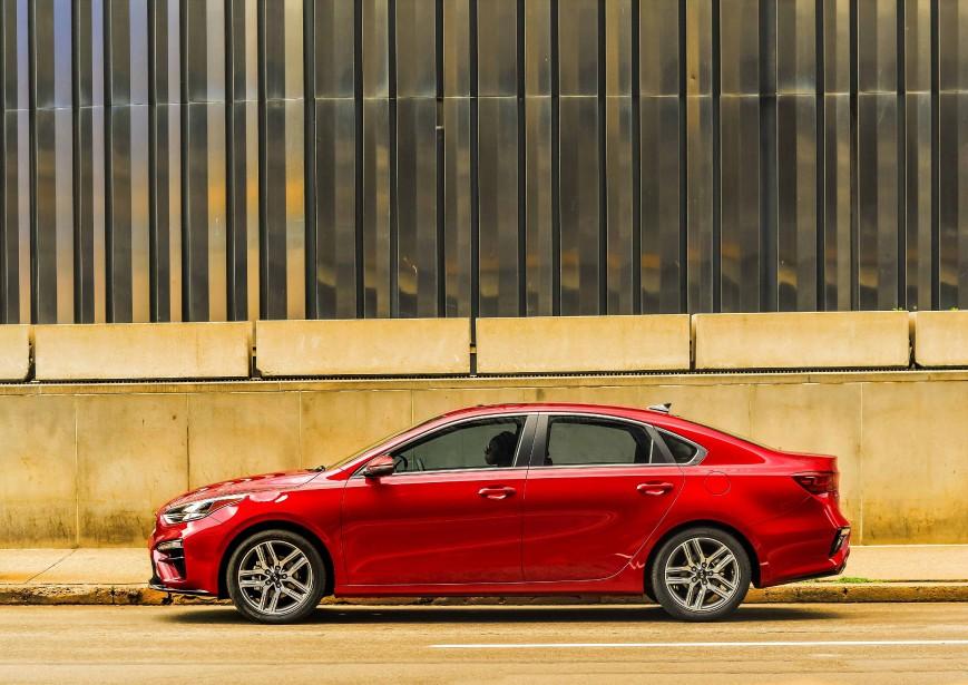 La Forte est moins excitante à conduire que certaines de ses rivales actuelles et sans doute futures (la Toyota Corolla et la Mazda 3, notamment). | 29 novembre 2018