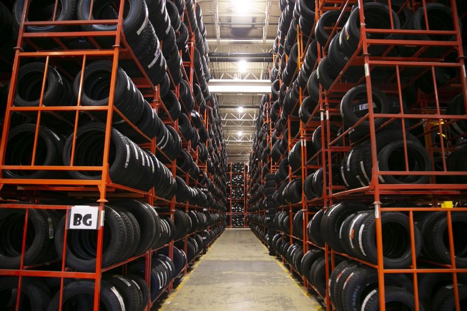 La récupération des pneus usagés,... (Photo David Boily, archives La Presse)