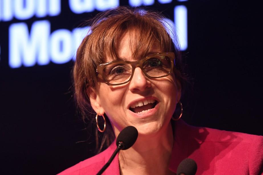 La ministre de la Culture et des Communications,... (Photo Bernard Brault, archives La Presse)