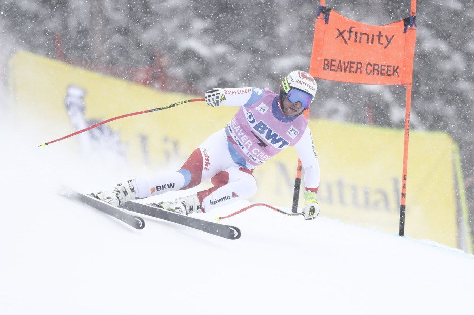 Beat Feuz... (Photo Erich Schlegel, USA TODAY Sports)