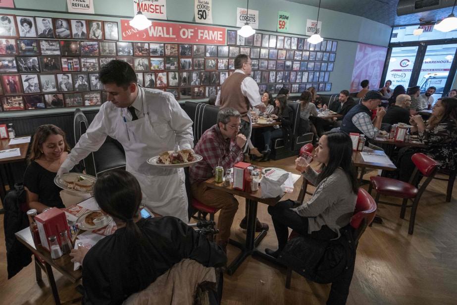 Le restaurant a rouvert ses portes dans le... (Photo DON EMMERT, Agence Framce-Presse)