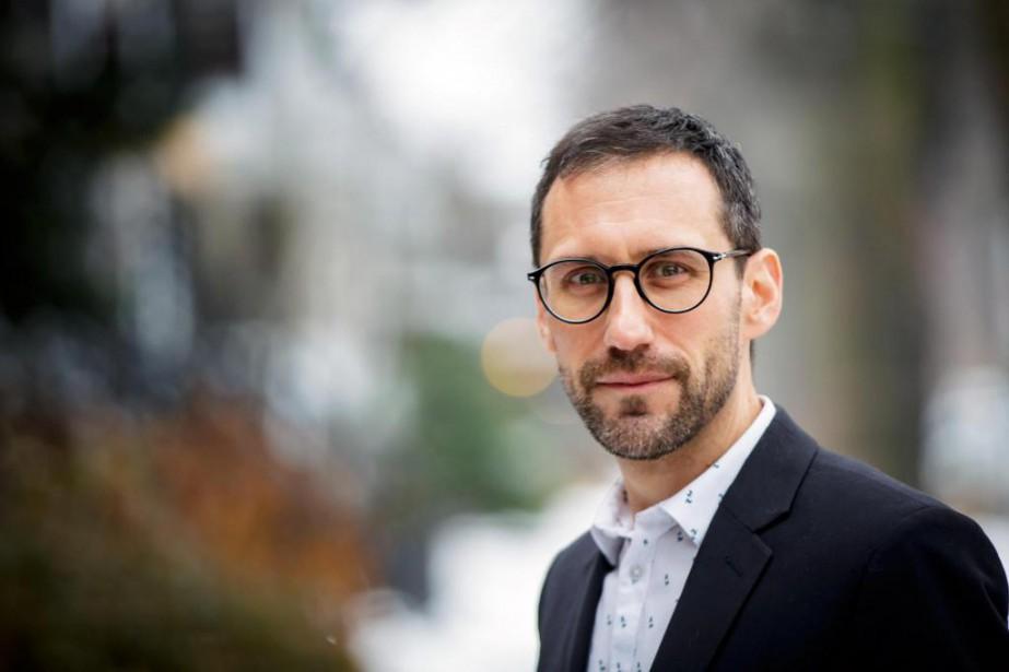 Mathieu Arcand possède un doctorat en pharmacologie, une... (Photo Olivier Jean, La Presse)
