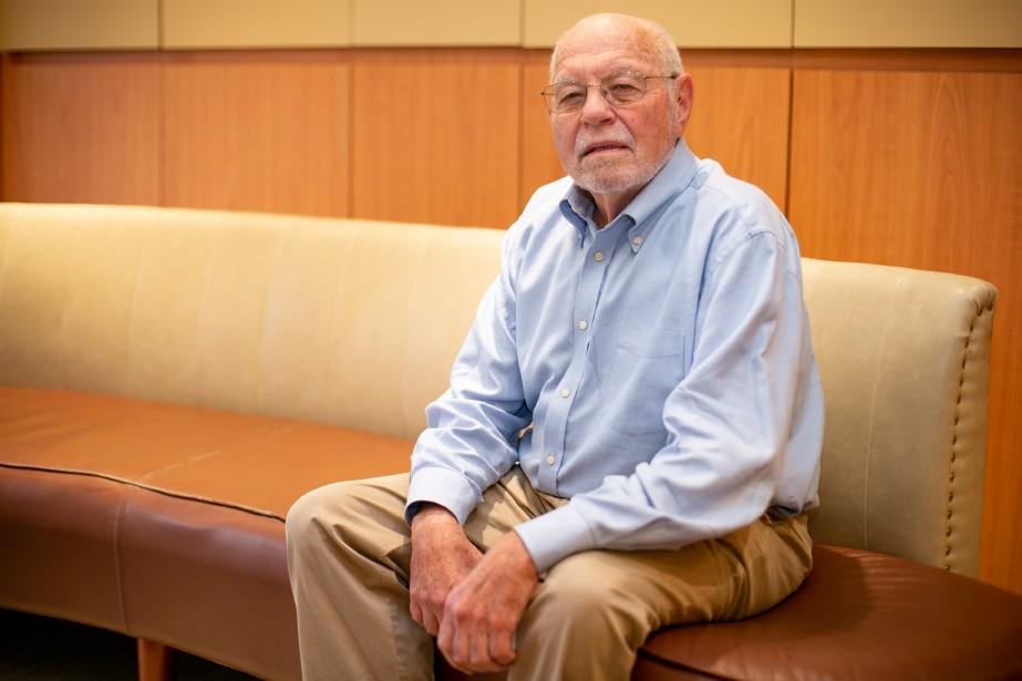L'intellectuel américain PaulGottfried,lié à l'émergence de la droite... (Photo David Boily, La Presse)