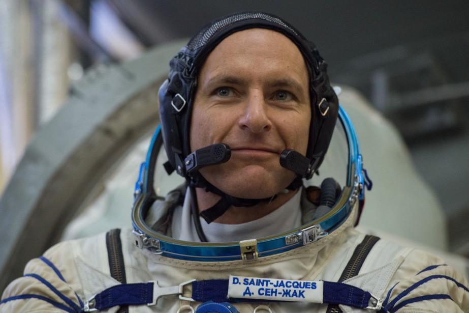 L'astronaute canadien DavidSaint-Jacques... (Photo AFP)
