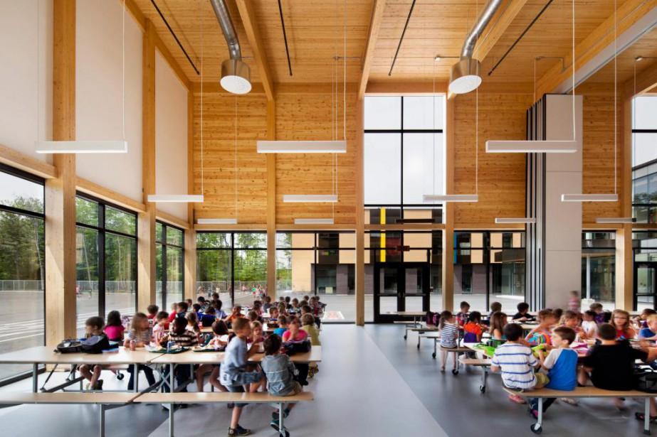 L'école primaire Sans-Frontières de Saint-Jérôme.... (Photo Stéphane Brügger, collaboration spéciale)
