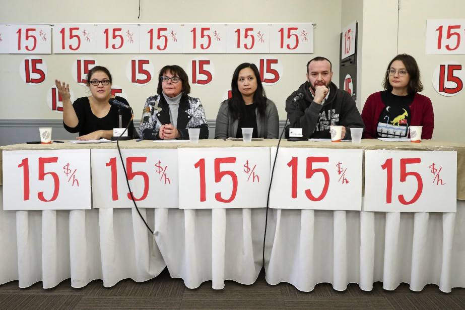 Un groupe de 117groupes syndicaux, communautaires et étudiants... (Photo RobertSkinner, La Presse)