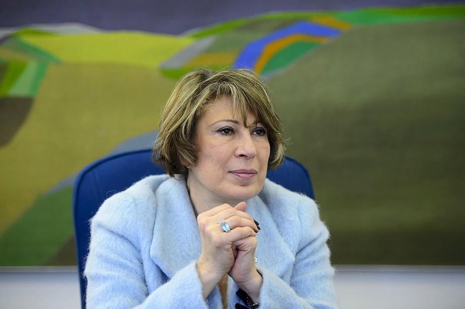 Canada's Chief Science Advisor Mona Nemer is pictured... (Photo Sean Kilpatrick, archives La Presse canadienne)