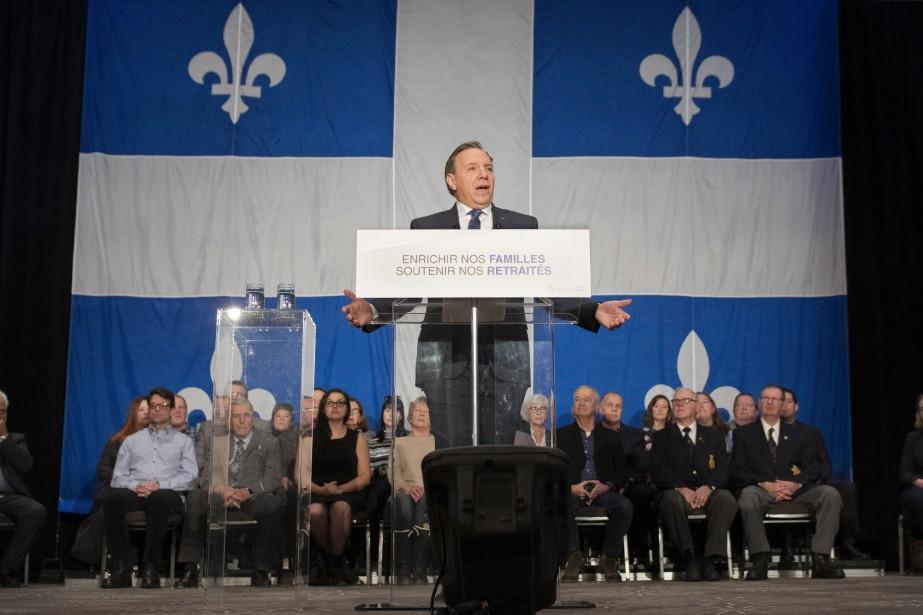 Le premier ministre François Legault... (Photo Jacques Boissinot, La Presse canadienne)