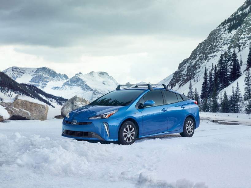 Toyota Prius AWD-Eà rouage intégral 2019 (Photo Toyota)