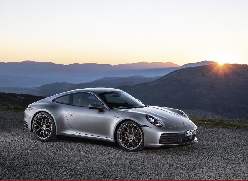 Porsche 911 Type 992 (Photo Porsche)