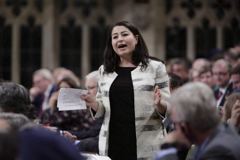 La ministre de la Condition féminine, Maryam Monsef.... (PHOTO PC)