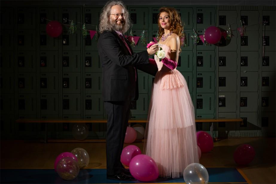 François Bellefeuille et Katherine Levac affichent le plus... (Photo David Boily, La Presse)