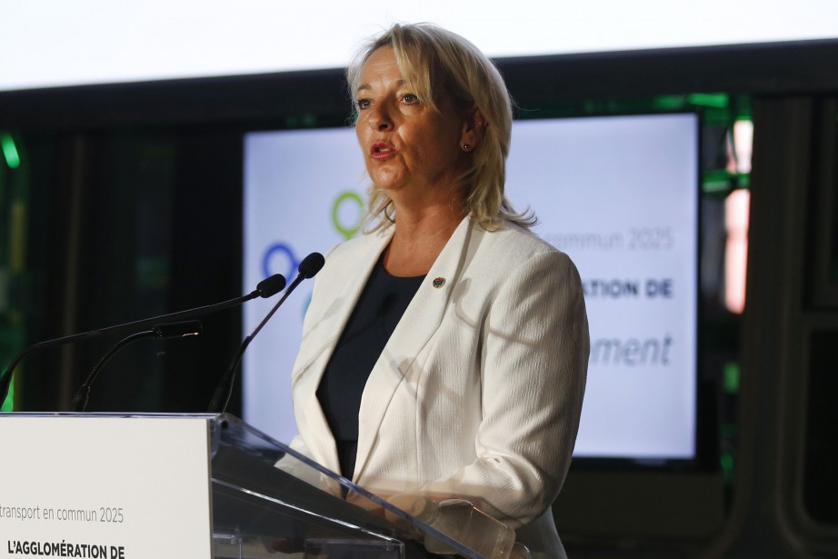 La mairesse de Longueuil, Sylvie Parent.... (Photo Martin Chamberland, archives La Presse)