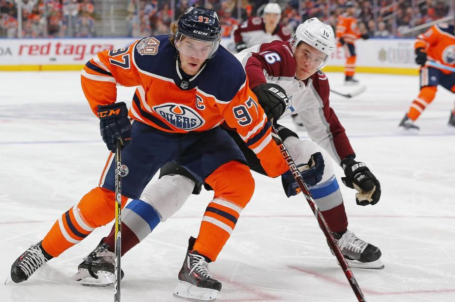 Connor McDavid mène les Oilers avec 14 buts... (PHOTO REUTERS)