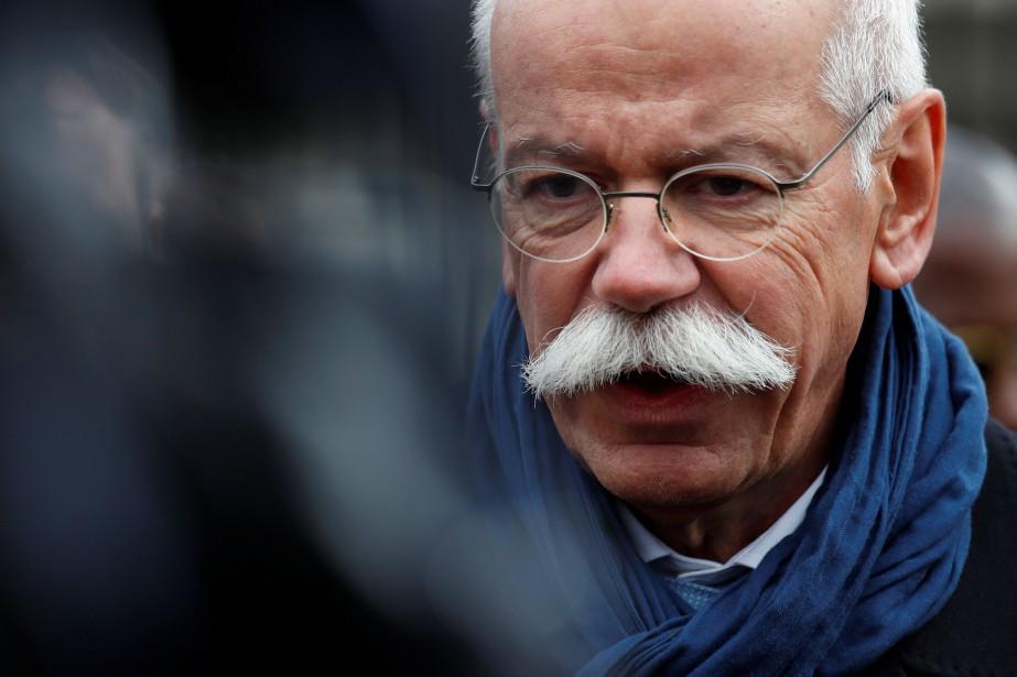 Le PDG de Daimler, Dieter Zetsche... (Photo KEVIN LAMARQUE, REUTERS)