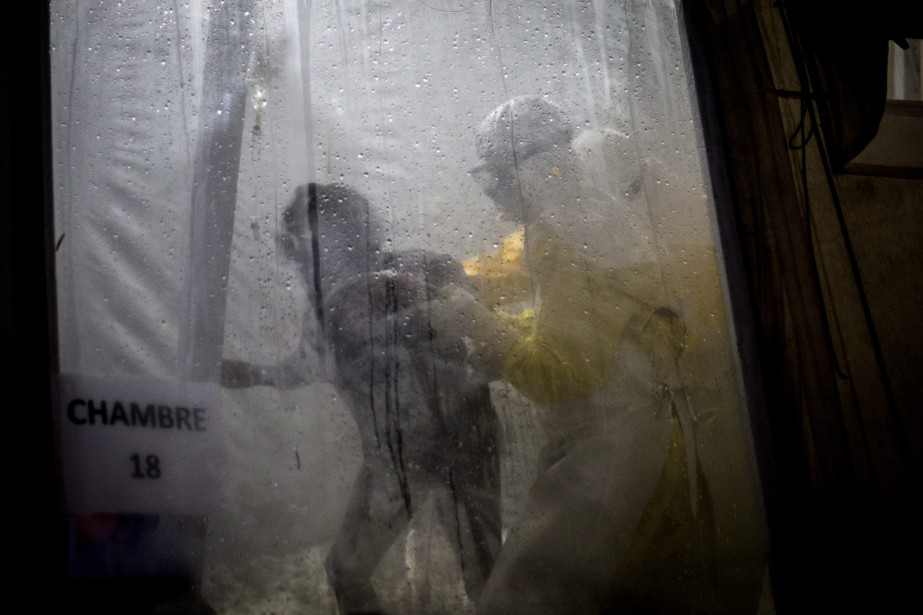Un nouveau foyer d'Ebola a été signalé dans... (Photo John Wessels, Associated Press)