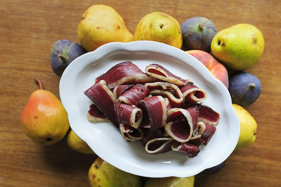Fernande Ouellet propose cette recette de poitrine d'oie... (Photo EDOUARD PLANTE-FRÉCHETTE, La Presse)