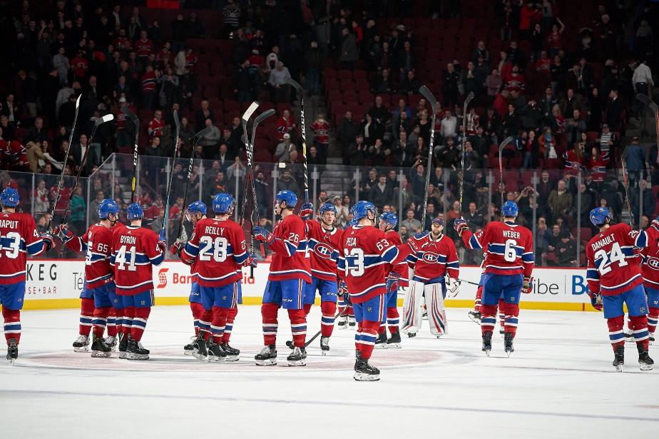Le Canadien de Montréal arrive au troisième rang... (Photo André Pichette, La Presse)