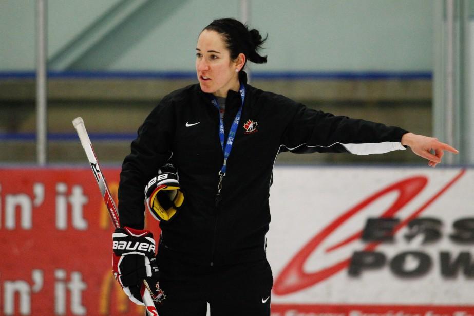 Caroline Ouellette... (Photo Dennis Pajot, archives La Presse canadienne)