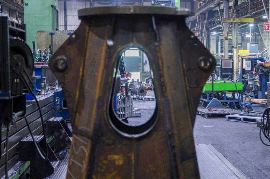 L'entreprise Rotobec, de Sainte-Justine, a dû déplacer une... (Photo Martin Tremblay, archives La Presse)