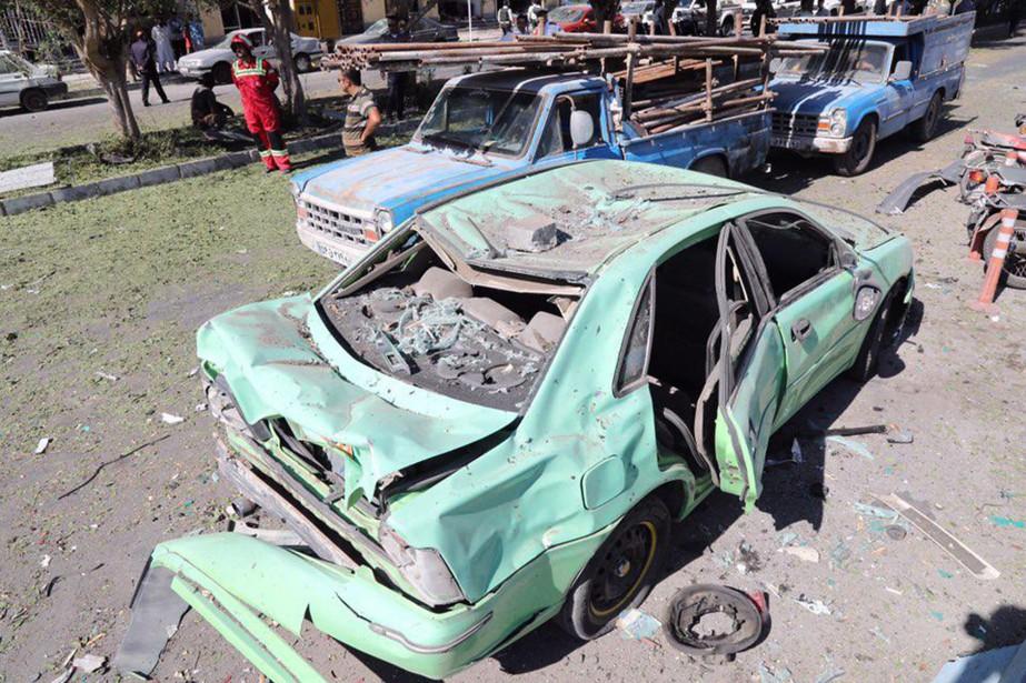 Deux policiers ont été tués jeudi à Chabahar,... (Photo AFP)