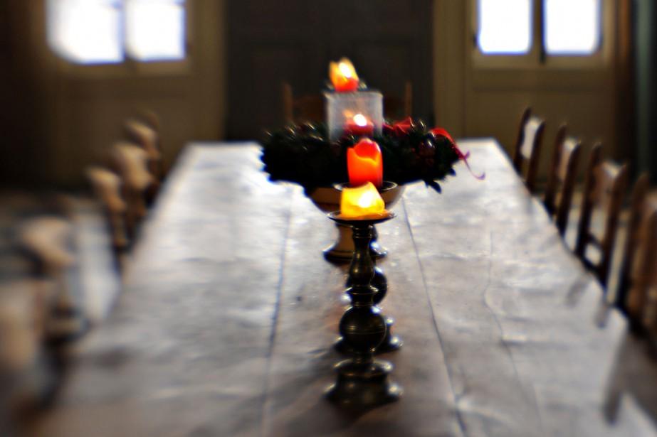 Voici quelques suggestions pour enjoliver votre table pour... (Photo Bernard Brault, archives La Presse)