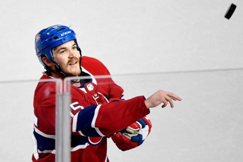 Andre Shaw offre de bonnes performances après un... (Photo Bernard Brault, La Presse)