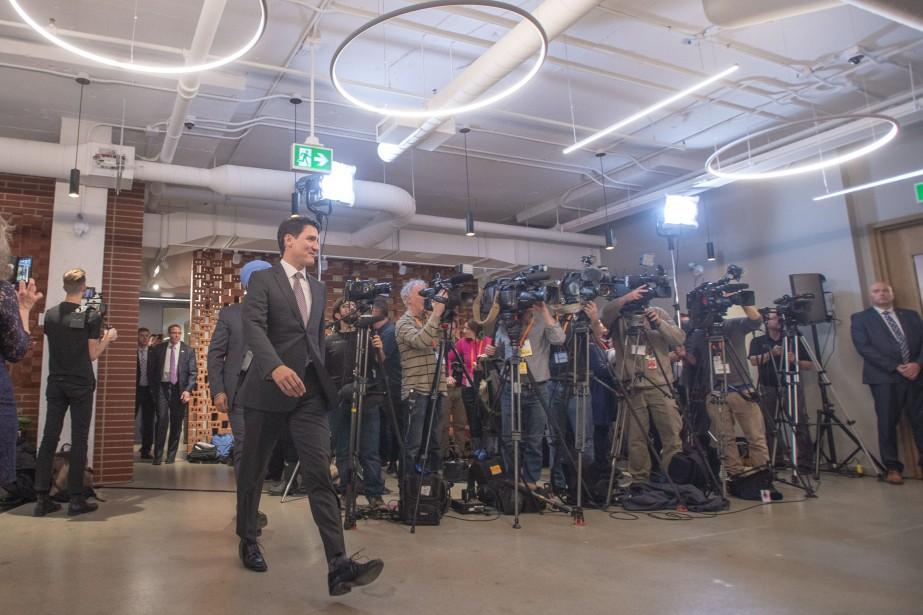 Le premier ministre Justin Trudeau... (Photo Ryan Remiorz, LA PRESSE CANADIENNE)