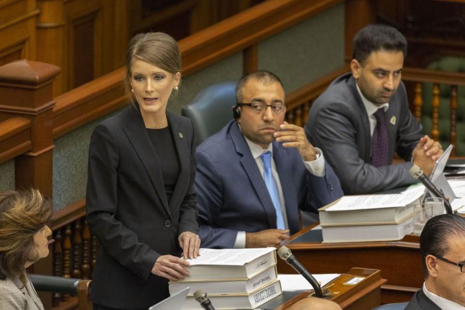 Le députée ontarienne indépendante Amanda Simard... (PHOTO ARCHIVES LE DROIT)