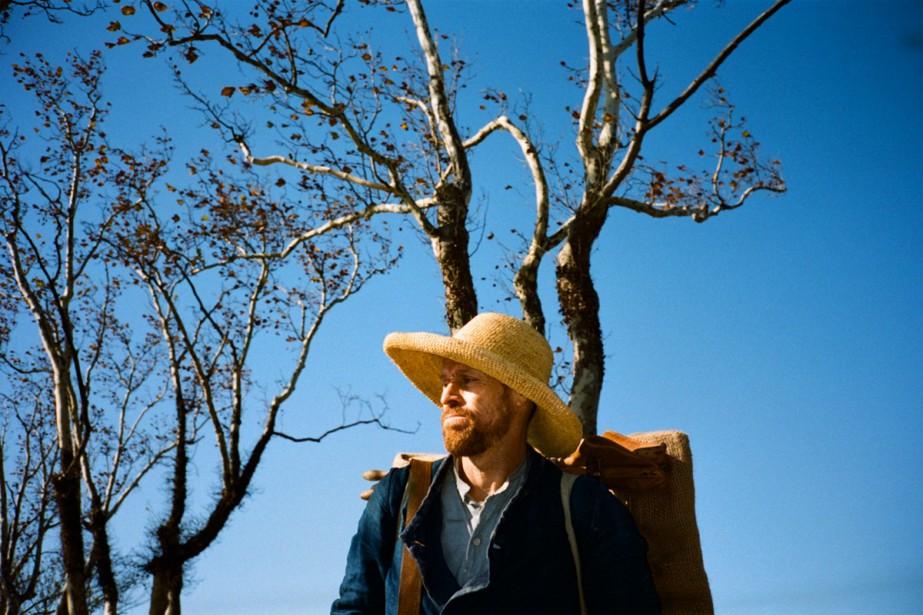 Willem Dafoe dans At Eternity's Gate, un film... (Photo fournie par Entract Films)