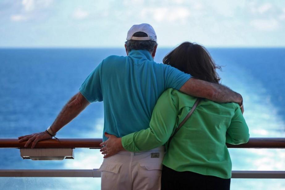 Suzanne et Richard aimeraient voyager deux fois par... (Photo Archives Bloomberg)