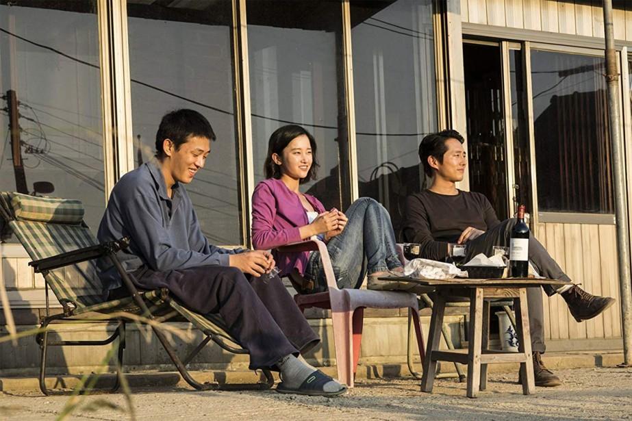 Scène tirée de Burning, film de Lee Chang-dong.... (Photo fournie par le Cinéma du Musée)