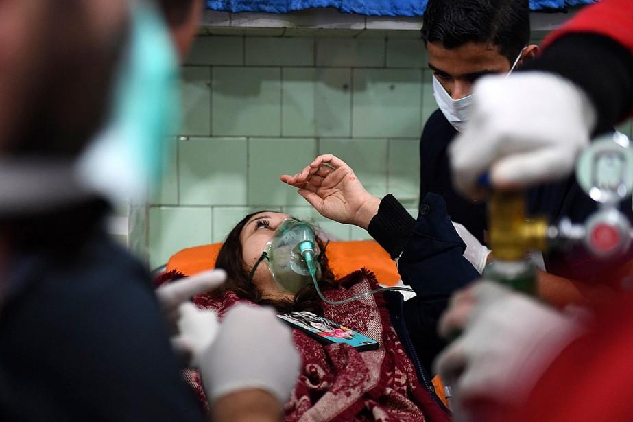 Siria: Washington acusa a Moscú de ayudar a organizar un ataque químico
