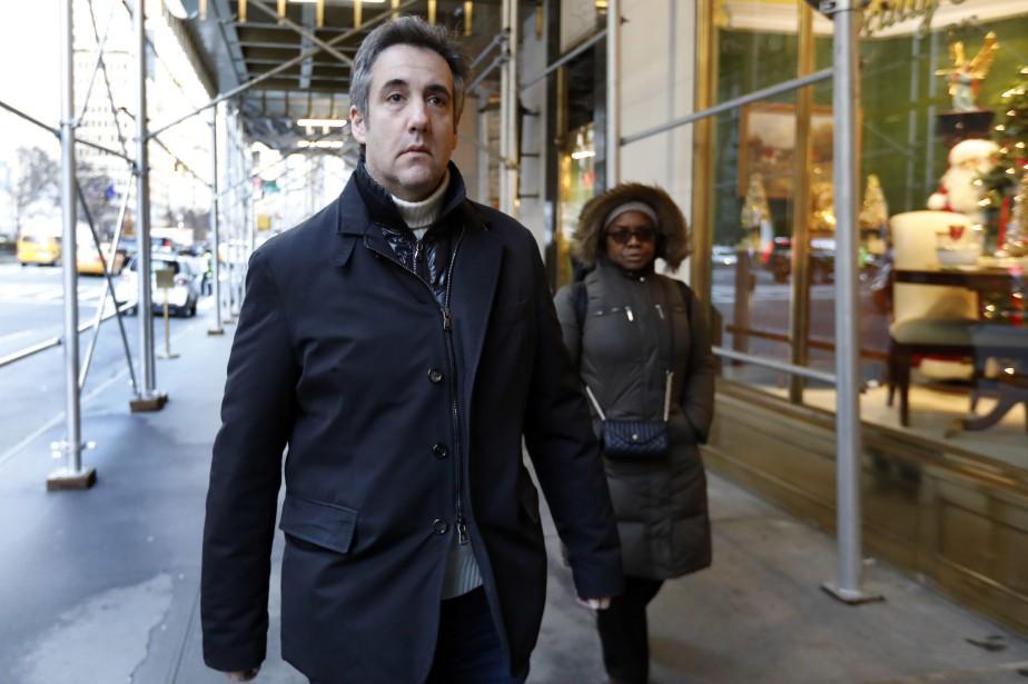 Michael Cohen.... (Photo Richard Drew, AP)